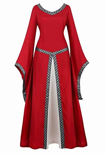 top 10 kleid mittelalter rot - kostüme für erwachsene